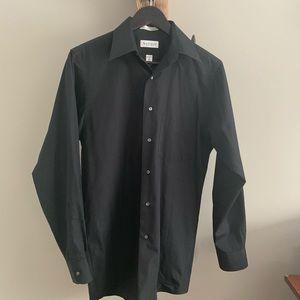 2/$18 Black / Van Heusen / Dress shirt